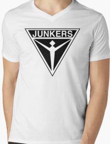 Junkers Aircraft logo Mens V-Neck T-Shirt