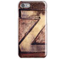 Z. iPhone Case/Skin