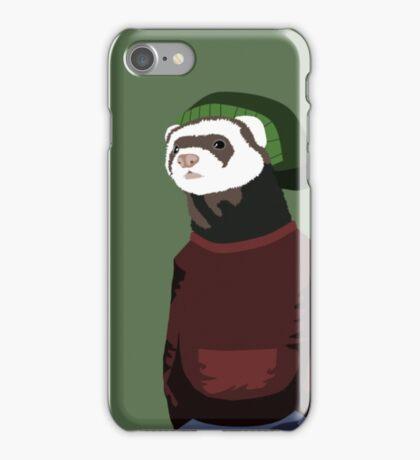 Street ferret iPhone Case/Skin