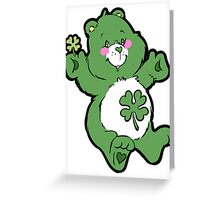 Good Luck Care Bear Greeting Card