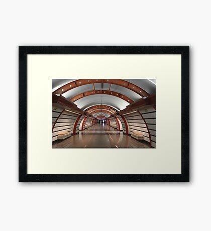 Metro Station  Framed Print