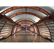 Metro Station  Photographic Print
