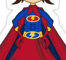 Cute Superhero Pattern Sticker