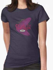 Cosmic Ray's Starlight Cafe Womens Fitted T-Shirt