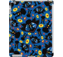 Superhero Silhouette Pattern iPad Case/Skin