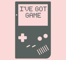 I've got game, Boy Baby Tee