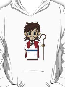Cute Jesus Christ Pattern T-Shirt