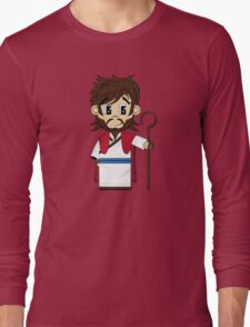 Cute Jesus Christ Pattern Long Sleeve T-Shirt