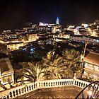 Vista Nocturna de Zaruma by alanbrito
