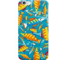 Tropical Fish Pattern iPhone Case/Skin