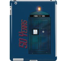 "Doctor Who - ""Happy Anniversary Whovians!"" iPad Case/Skin"