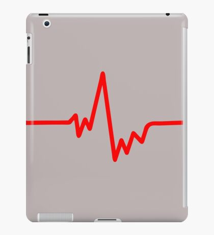 pulse heartbeat cardio iPad Case/Skin