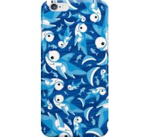 Cute Shark Pattern iPhone Case/Skin
