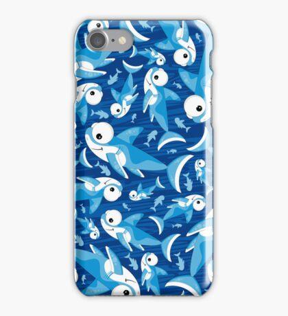 Cute Shark Pattern iPhone Case/Skin