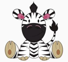 Cute Zebra Pattern Kids Clothes
