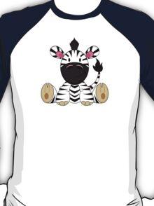 Cute Zebra Pattern T-Shirt