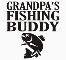 Grandpa's Fishing Buddy One Piece - Short Sleeve
