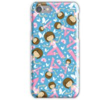 Yoga Girl Pattern iPhone Case/Skin