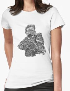 Halo - Master Chief  Womens Fitted T-Shirt