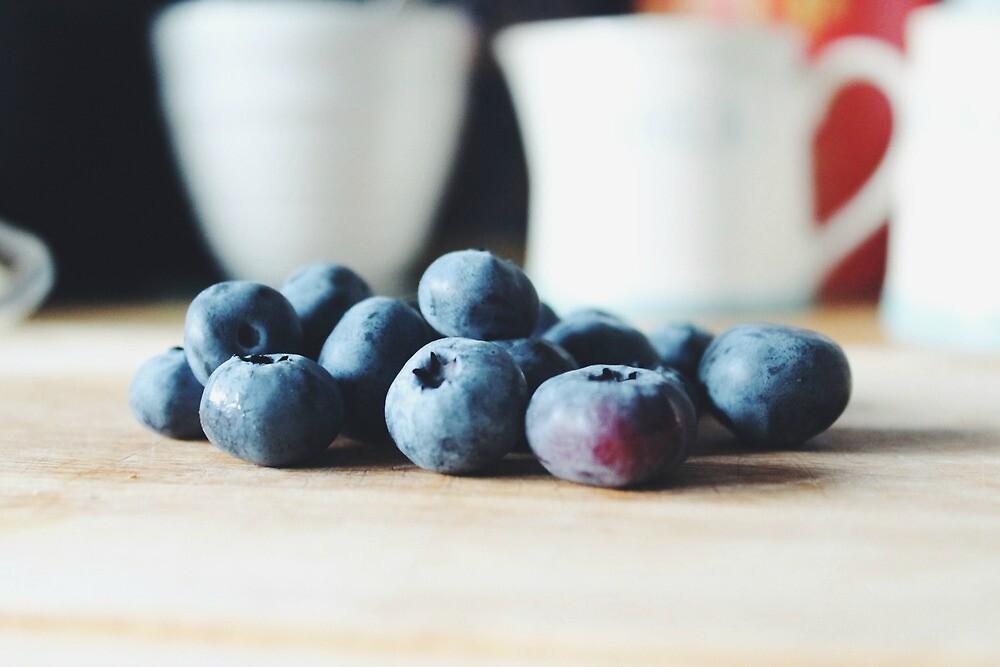 Blueberries by helloimbethany