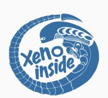 Xeno inside - large blue by hoofster
