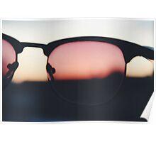 Sunset Lens Poster