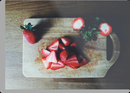 Strawberries by helloimbethany