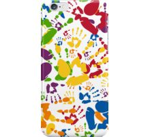 Kids Handprint Pattern iPhone Case/Skin