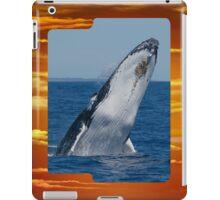 Whale Breaching iPad Case iPad Case/Skin