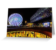 The Library of Birmingham and The Wheel Greeting Card