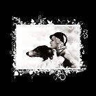 Vintage Design - Lady and Hound - classy! by scatharis