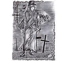 Black Butler - Undertaker Photographic Print