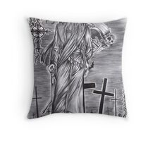 Black Butler - Undertaker Throw Pillow