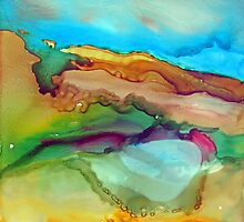 Flowing Rock by bevmorgan