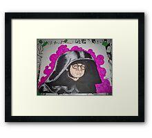 Lord Dark Helmet: Spaceballs Framed Print