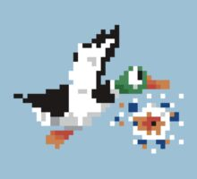 8-Bit Nintendo Duck Hunt 'Miss' One Piece - Short Sleeve