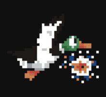 8-Bit Nintendo Duck Hunt 'Miss' One Piece - Short Sleeve