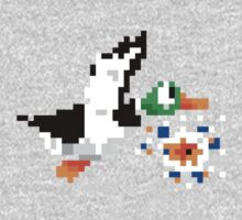 8-Bit Nintendo Duck Hunt 'Miss' One Piece - Long Sleeve