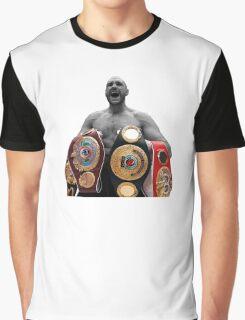 Tyson Fury Boxing World Champion Graphic T-Shirt