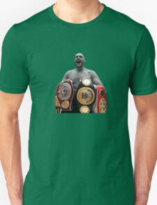 Tyson Fury Boxing World Champion Unisex T-Shirt