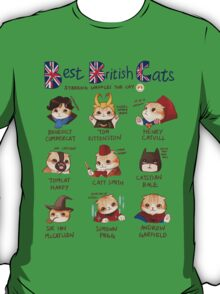 Best British Cats (BBC) T-Shirt