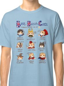 Best British Cats (BBC) Classic T-Shirt