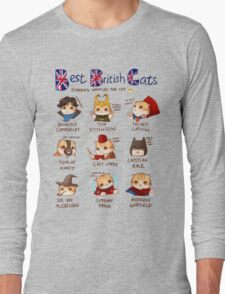 Best British Cats (BBC) Long Sleeve T-Shirt