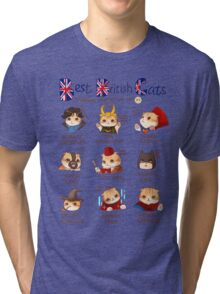 Best British Cats (BBC) Tri-blend T-Shirt