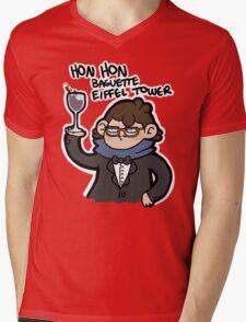 Frenchlock Mens V-Neck T-Shirt