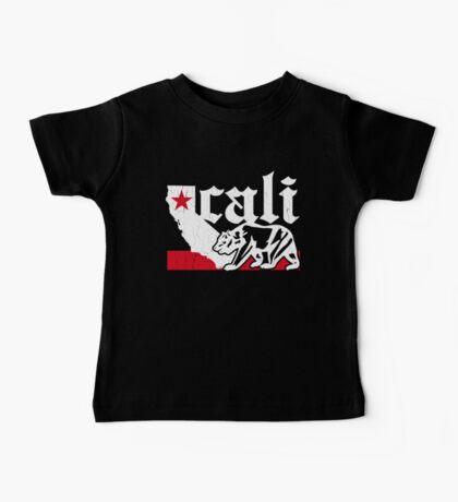 Vintage California Bear Flag (distressed) Baby Tee