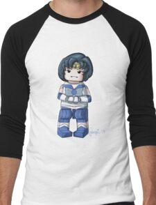Legolized Sailor Mercury Men's Baseball ¾ T-Shirt