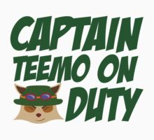 League of legends Teemo - Captain teemo on duty!  by Nundei