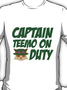 League of legends Teemo - Captain teemo on duty!  T-Shirt