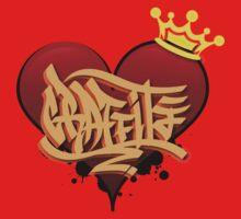 Graffiti Heart One Piece - Long Sleeve